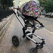 Козырек для коляски ручной работы. Ярмарка Мастеров - ручная работа Козырек для коляски универсальный. Handmade.