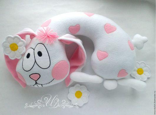 подушка ручной работы, подушка подарок, авторская подушка, подушка купить, подарок купить, подарок взрослому, подарок ребенку, заяц, игрушка, мягкая игрушка