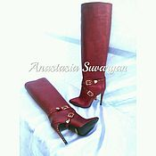Обувь ручной работы handmade. Livemaster - original item boots handmade. Handmade.