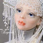 Куклы и игрушки ручной работы. Ярмарка Мастеров - ручная работа Авторская кукла Снегурочка. Handmade.