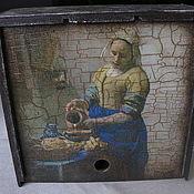 """Для дома и интерьера ручной работы. Ярмарка Мастеров - ручная работа Короб """"Молочница"""". Handmade."""