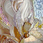 Для дома и интерьера ручной работы. Ярмарка Мастеров - ручная работа Витраж в дверь-в стиле ар-нуво. Handmade.