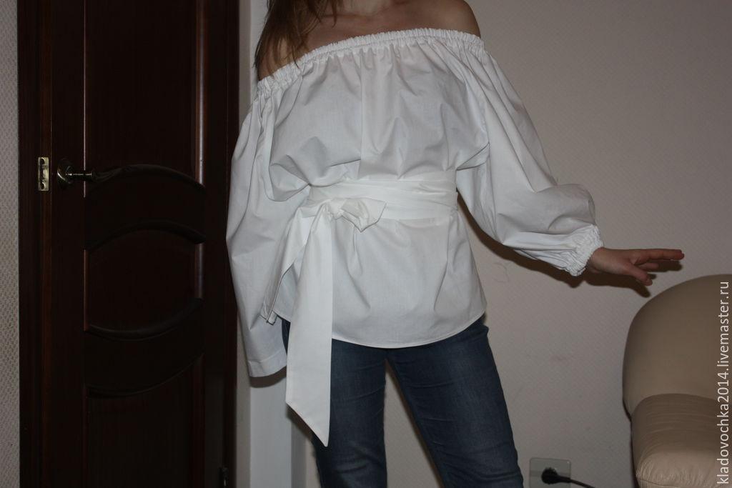 Блузки Белые Купить Москва