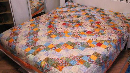 """Текстиль, ковры ручной работы. Ярмарка Мастеров - ручная работа. Купить Лоскутное шитье. Пэчворк  """" Мотивы""""  № 55. Handmade."""