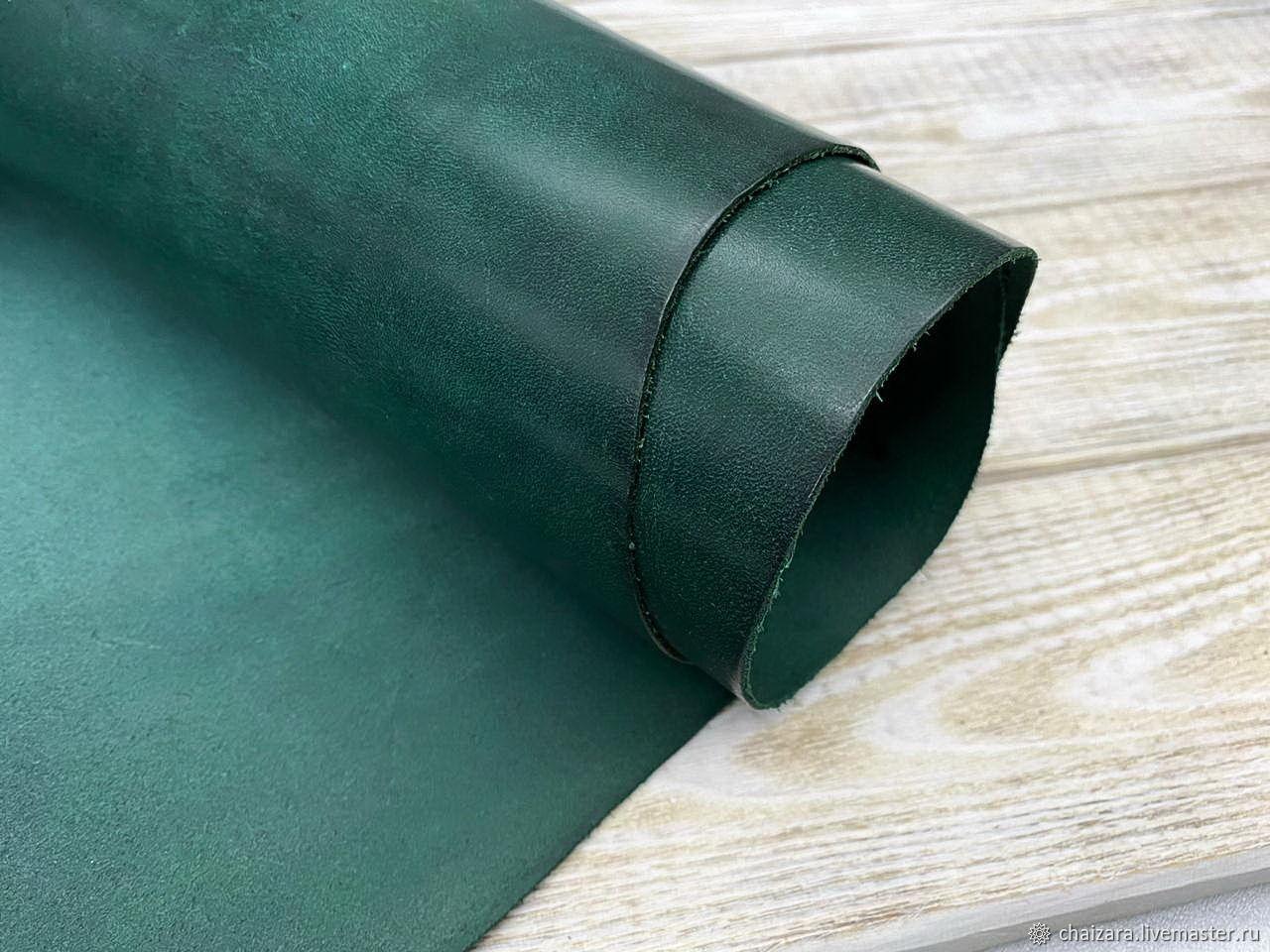 Vegetal  La Perla 1.3-1.5 мм Missouri Liscio MS5 (Emerald), Кожа, Оренбург,  Фото №1