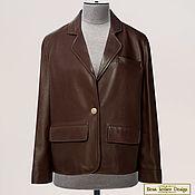 Одежда handmade. Livemaster - original item Jacket straight