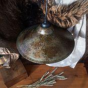 Для дома и интерьера ручной работы. Ярмарка Мастеров - ручная работа Плафон для лампы состаренный / состаривание любой поверхности. Handmade.