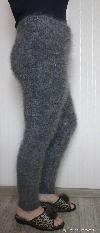 Брюки, шорты ручной работы. Ярмарка Мастеров - ручная работа. Купить Брюки,легинсы, гамаши,брюки-тёплые из козьего пуха. Handmade.
