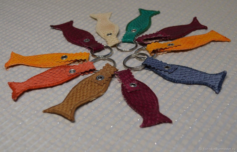 Рыбка на счастье (кожа сёмги) Fishskin