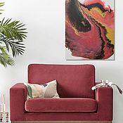 Картины и панно handmade. Livemaster - original item Noble love Interior painting. Handmade.