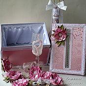 Свадебный салон ручной работы. Ярмарка Мастеров - ручная работа Свадебный комплект Шарм. Handmade.