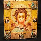 Картины и панно handmade. Livemaster - original item Wooden icon in the ark