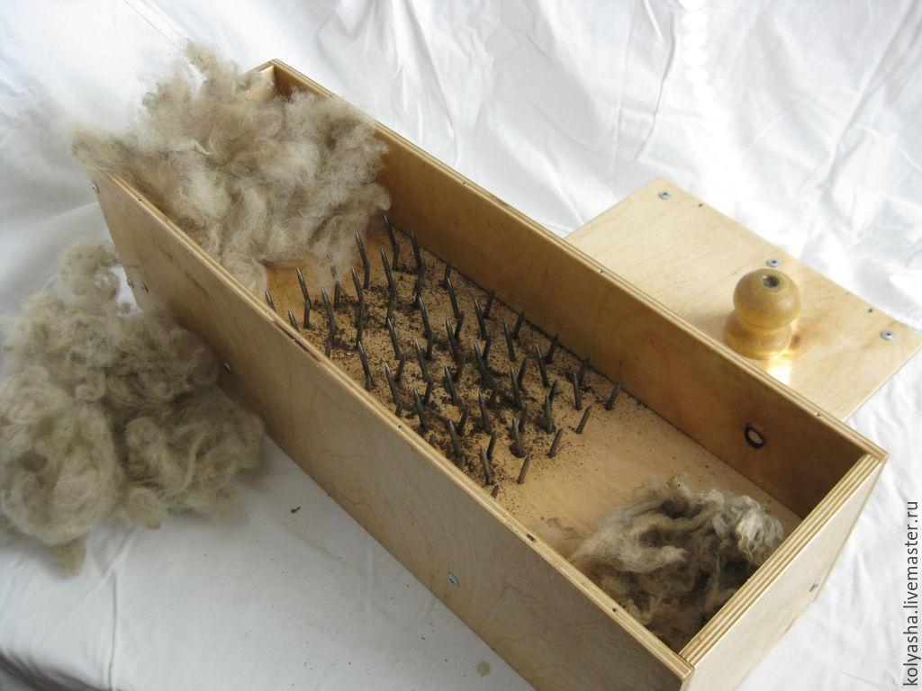 Чесалки для шерсти своими руками