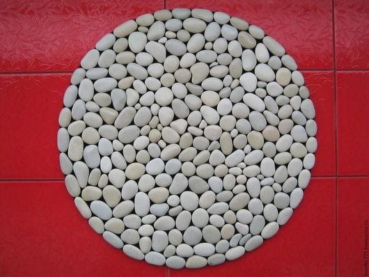 Каменный коврик ручной работы Размер 60х60 см Цена 5000 руб.