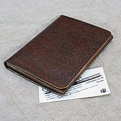 Сумки и аксессуары handmade. Livemaster - original item Organizer for documents, auto documents, two passports. Traveler.. Handmade.