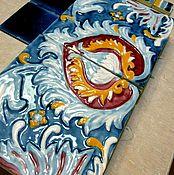 Для дома и интерьера handmade. Livemaster - original item Peacock`s Eye Tiles. Handmade.