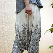 Одежда ручной работы. Ярмарка Мастеров - ручная работа Трикотажные штаны как юбка летние (вариант 2). Handmade.