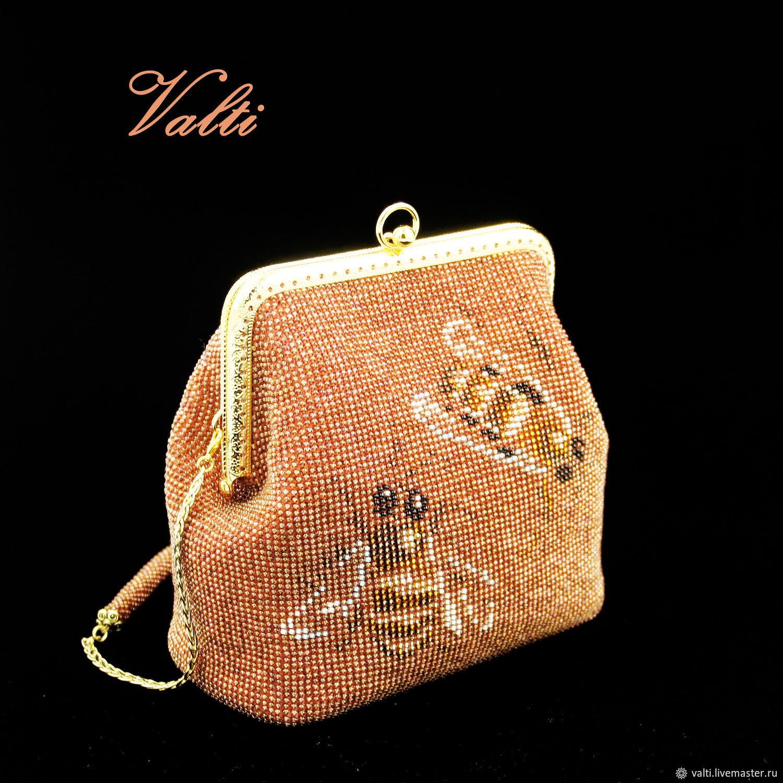Handbag ' Bees', Classic Bag, Moscow,  Фото №1