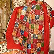 """Для дома и интерьера ручной работы. Ярмарка Мастеров - ручная работа Лоскутное одеяло """"Печки-Лавочки"""". Handmade."""