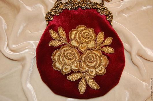 Золотное шитье. Ручная вышивка. металлизированные нитки MADEIRA. Ярмарка мастеров - ручная вышивка , HANDMADE
