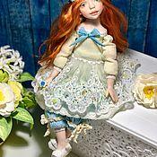 Авторская подвижная кукла ALISSIA