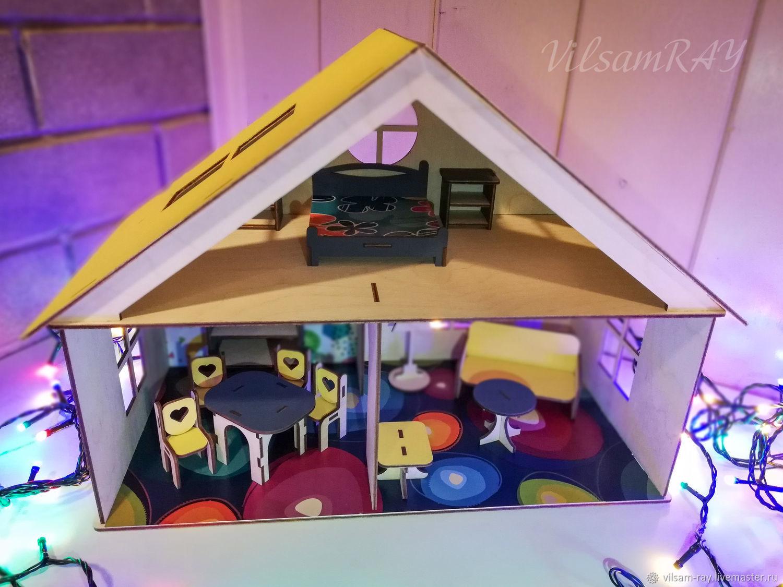 Кукольный домик с мебелью. Сьюитленд 2, Кукольные домики, Тюмень,  Фото №1