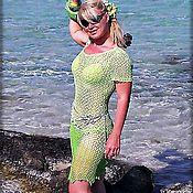 """Одежда ручной работы. Ярмарка Мастеров - ручная работа платье вязаное крючком """"Мавка"""".. Handmade."""