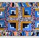 """Текстиль, ковры ручной работы. Заказать Коврик пэчворк   """"Лоскутная мозаика"""" для кухни, спальни или прихожей. Вязание  Лоскутное шитье Пэчворк (Svetlana-Svet). Ярмарка Мастеров."""
