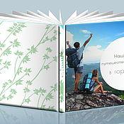 Фотоальбомы ручной работы. Ярмарка Мастеров - ручная работа Альбом путешествий - фотокнига. Handmade.