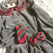 Работы для детей, ручной работы. Ярмарка Мастеров - ручная работа Платье ПТЛ 1024. Handmade.