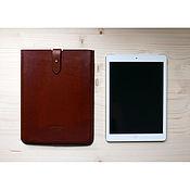 Сумка-планшет ручной работы. Ярмарка Мастеров - ручная работа Кожаный чехол для планшетов iPad, Samsung и т.д. Handmade.