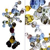 Для дома и интерьера ручной работы. Ярмарка Мастеров - ручная работа Интерьерная скульптура из цветного стекла - Древо Познания. Handmade.