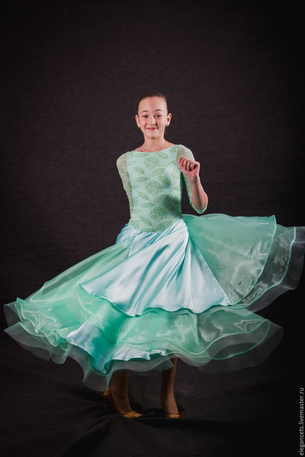 6dc31954b66 Dance Costumes handmade. Livemaster - handmade. Buy Ballroom dress YOUTH  LOVE.