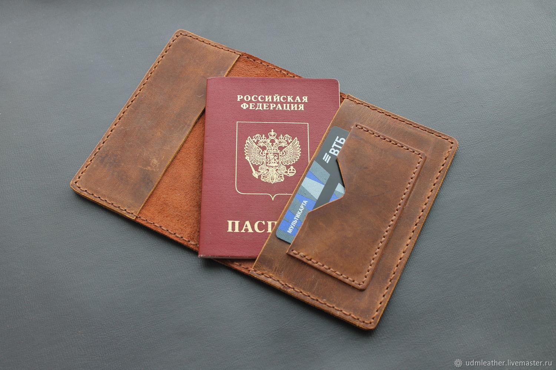 Passport cover passport, Purse, Izhevsk,  Фото №1