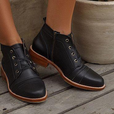 Обувь ручной работы. Ярмарка Мастеров - ручная работа Passage. Трендовые ботинки на шнуровке, чакка  (chukka boots).. Handmade.