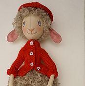 Куклы и игрушки ручной работы. Ярмарка Мастеров - ручная работа Овечка Лизетта. Handmade.
