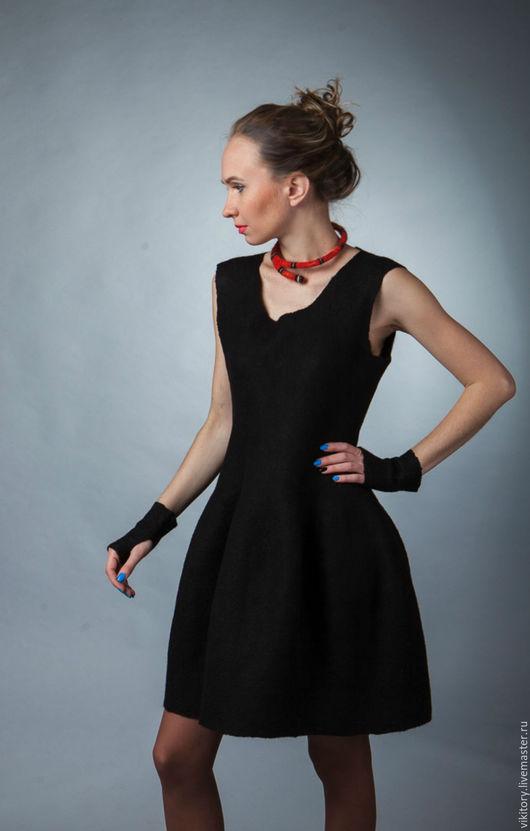 Платья ручной работы. Ярмарка Мастеров - ручная работа. Купить Маленькое черное платье. Handmade. Черный, черное платье