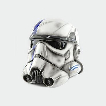 Дизайн и реклама ручной работы. Ярмарка Мастеров - ручная работа Боевой шлем Имперского Штурмовика Commander StarWars. Handmade.