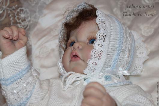 Куклы-младенцы и reborn ручной работы. Ярмарка Мастеров - ручная работа. Купить Малыш из молда Лука.. Handmade. Бежевый, винил