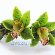Украшения ручной работы. Ярмарка Мастеров - ручная работа ...Тропические феи...заколка...орхидеи...термопластика. Handmade.