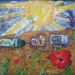 Солнечный день (iralad) - Ярмарка Мастеров - ручная работа, handmade