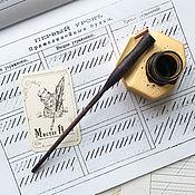 Канцелярские товары handmade. Livemaster - original item Holder Obliquepen No. 136. Handmade.