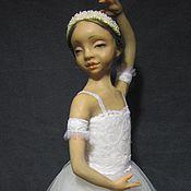 """Куклы и игрушки ручной работы. Ярмарка Мастеров - ручная работа """"Юная балерина"""". Handmade."""