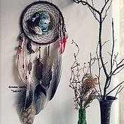 """Фен-шуй и эзотерика ручной работы. Ярмарка Мастеров - ручная работа Ловец Снов-щит """"Дочь вождя"""". Handmade."""