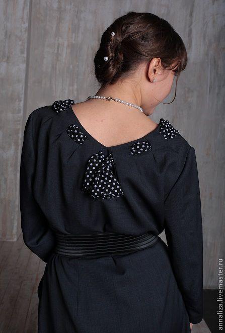 """Платья ручной работы. Ярмарка Мастеров - ручная работа. Купить Платье в стиле 50-х  """"Пестрая лента"""". Handmade."""
