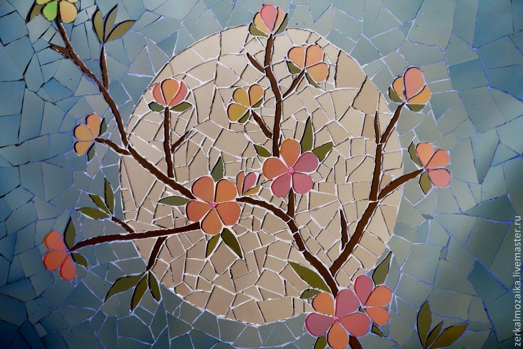 Мастер класс мозаика из стекла своими руками 4