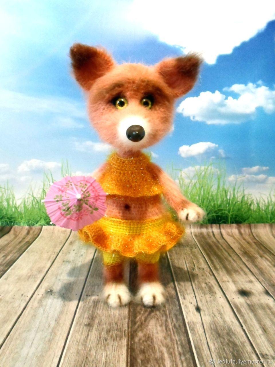 Fox Alisa2, Stuffed Toys, Ufa,  Фото №1