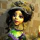 Коллекционные куклы ручной работы. Ярмарка Мастеров - ручная работа. Купить Авторская кукла по мотивам Мадмуазель Лили. Handmade. Разноцветный