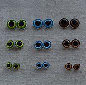 Глазки на петельке для игрушек