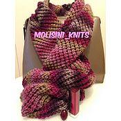 Аксессуары ручной работы. Ярмарка Мастеров - ручная работа шарф снуд Венеция. Handmade.